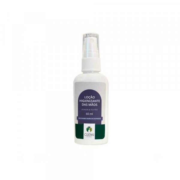 LOCAO HIGIENIZANTE LAVANDA E TEA TREE 60ML