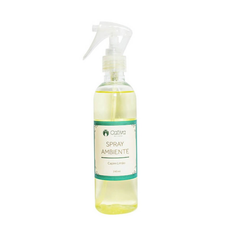SPRAY DE AMBIENTE CAPIM LIMAO 240ML